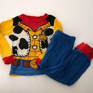 Woody toddler Pajama Set | size 3T